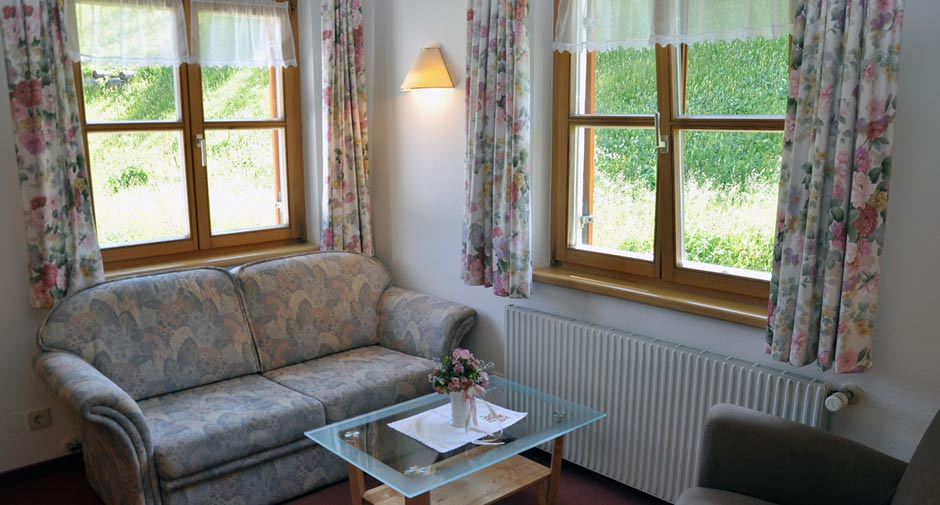 Seating area | Sitzecke Haus Juliana