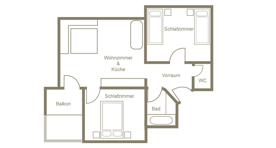 Lech am Arlberg Appartement 23
