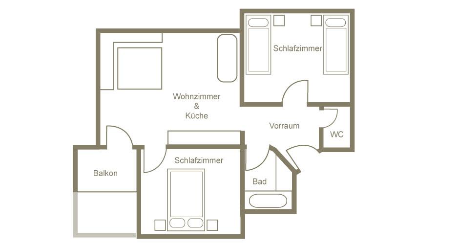 Lech am Arlberg Appartement 23
